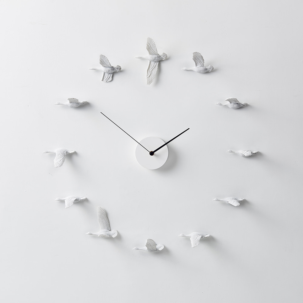 Migrantbird X CLOCK - O Form