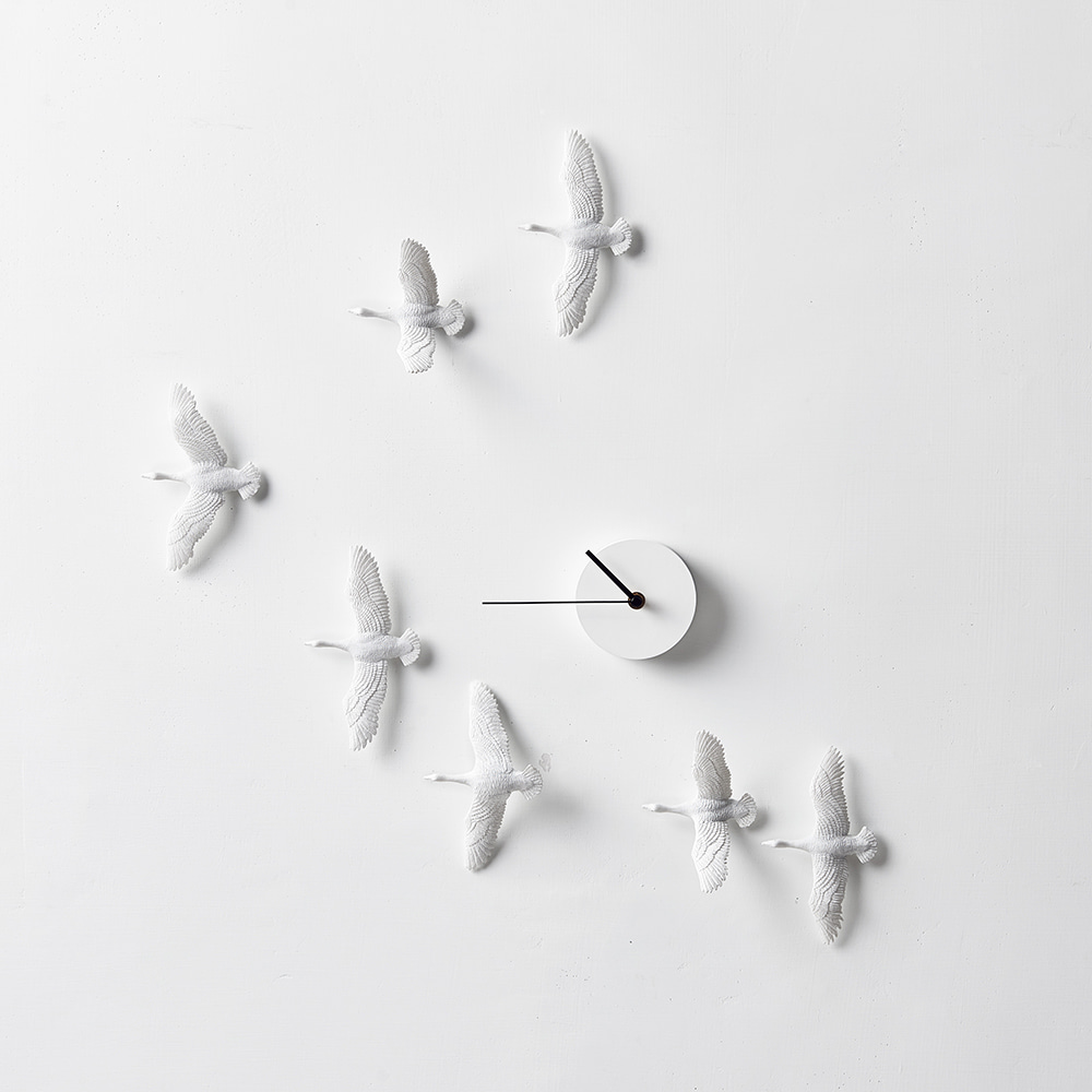 Migrantbird X CLOCK - V Form